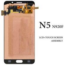 Para Samsung Note 5 N920F N920I LCD pantalla táctil OLED N920T N9200 Panel de visualización digitalizador Asamblea