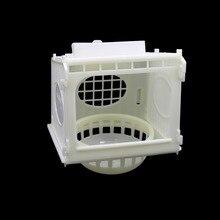 Fournitures pour oiseaux en plastique   1 pièce, nid doiseau amovible, blanc, maison pour oiseaux en plastique de haute qualité Cage pour perroquet, outil pour animaux domestiques