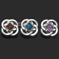 wholesale hot sale metal rhinestone snap buttons w121 diy jewelry fit 18mm snap button necklacesbracelets for women