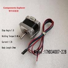 42 stepper motor/1.2A 34mm 17HD34007-22B 1.8 degree 3D printer stepper motor