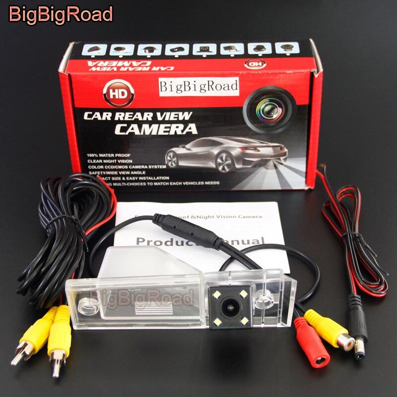 BigBigRoad-caméra de protection contre larrière   Pour KIA VQ Grand, carnaval R 2006-2015 Sedona, 2006 -2011 2012 2013 2014