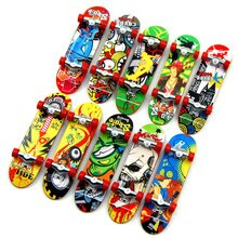 10pcs/set Finger Boards Skate Truck For Kid Mini Finger Skateboards Puzzle Toy Children Creative Fingertip Movement Toy