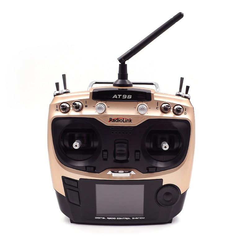 RadioLink AT9S AT10 II 2,4G 10CH transmisor de Control remoto R12DS módulo receptor PRM-01