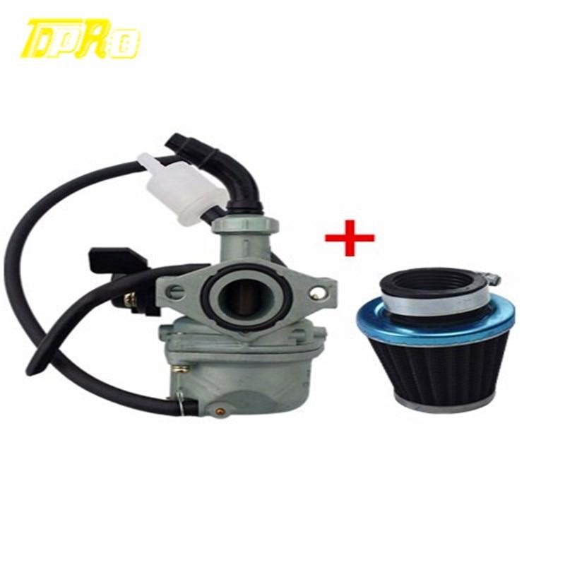 35mm filtro de aire + carburador 19 m Carby 50/70/90/110/125cc ATV Quad pozo de la bici de la suciedad