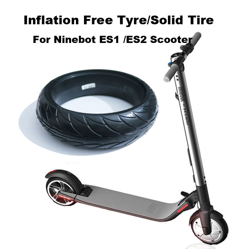 ES1/ES2 Scooter Tubeless Tyre 8*2.125 Wiel Band Schokabsorptie Effen Bandenspanning Gratis voor Elektrische Scooter ES1/ES2