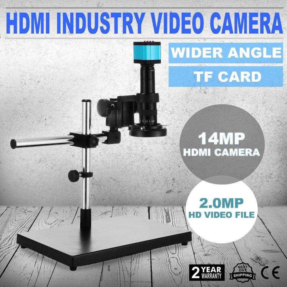 Juego de Video de 14 MP de Mikroskop con Boom Steht bildeinfriere Kamera vídeo USB caliente