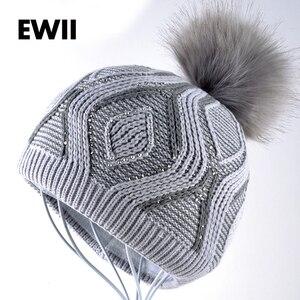 Free shipping winter hats for  beanie hat girl beanies skullies women wool bonnet femme caps ladies knitted warm cap gorro bone