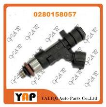 Injecteur de carburant (4) FIT pour peugeot   207 307 308 1,6l 16V L4 TU5JP4 0280158057 2000-2015, nouveau