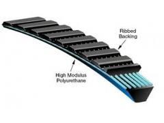 2PCS/lot 5M335 drive belts Gates Polyflex Belt for Optimum D 180 machine