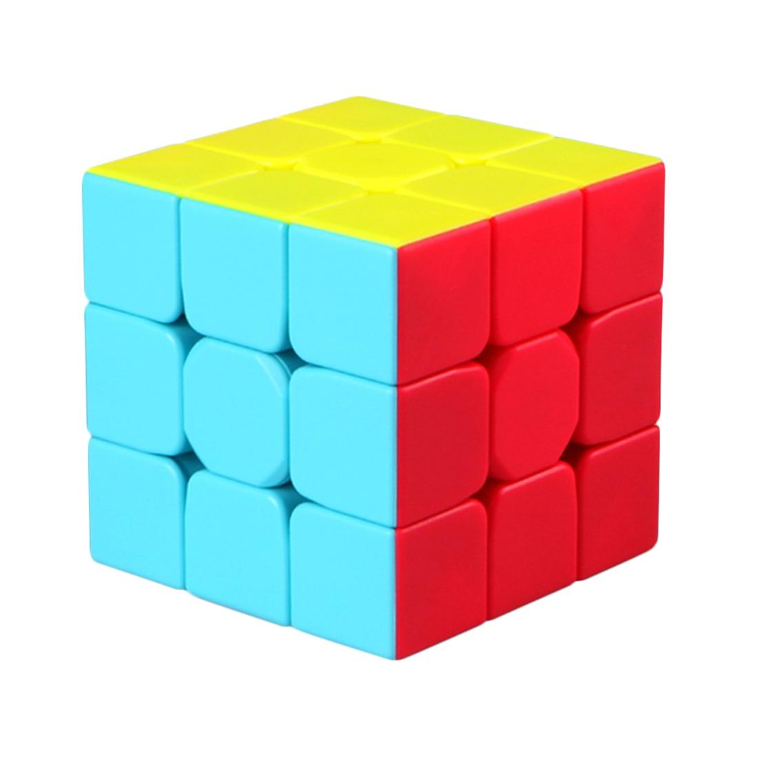 Nuevo Qiyi Mofangge Warrior W 5,7 cm 3*3*3 Speedcube Color vivo esquema 2019 niños pequeño regalo