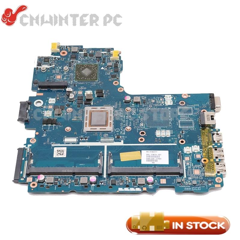 NOKOTION FÜR HP Probook 455 G2 Laptop Motherboard 773074-601 773074-001 ZPL45 55 LA-B191P A8-7100 CPU DDR3