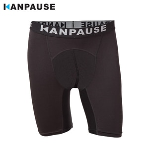 New Arrival KANPAUSE Men's Drip-dry Tights Shorts Running Trainning & Exercise Shorts Sportswear