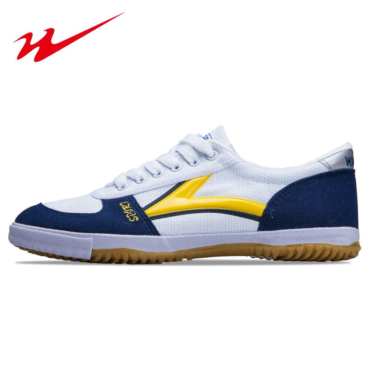 Tenis de Mesa, zapatos antideslizantes para hombres y mujeres, zapatos Pingyu para hombre, tenis de mesa, zapatos para hombre, artes marciales clásicas