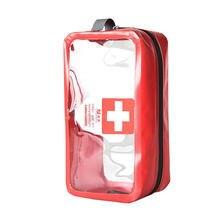 5L sacs médicaux Portable Camping Transparent imperméable à leau de survie sac de rangement médical trousse de premiers soins