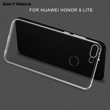 Estuche de silicona transparente ultradelgado para Huawei honor 9 lite funda coque hoesje tpu funda de teléfono kryt tok etui casa