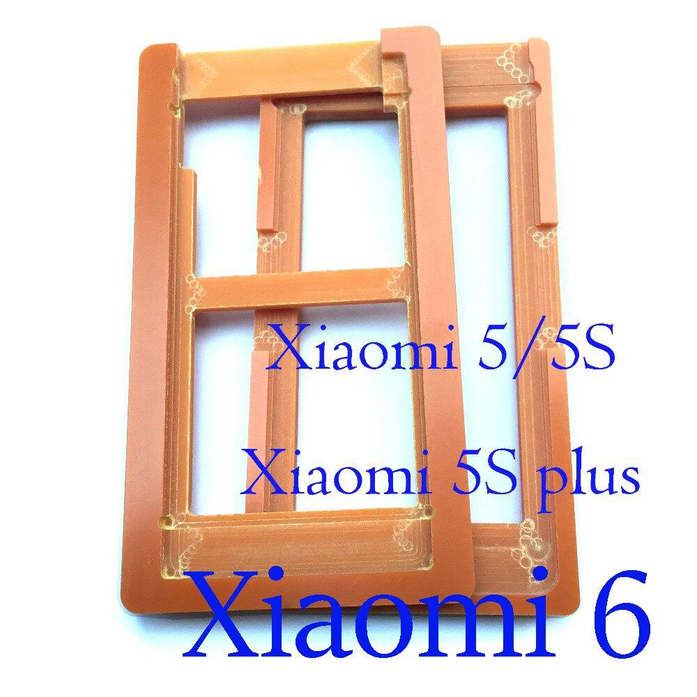 1pcs PF Colla Muffa Muffa di vetro dello schermo A CRISTALLI LIQUIDI di trasporto Titolare oca stampi per Xiaomi 5 5S 5C 5s più di 6 Redmi Nota 5A/ Mi5 Mi5S Mi5C Mi6