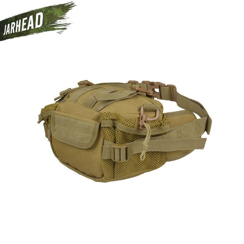 Сумка на плечо, Армейская, тактическая, с несколькими карманами