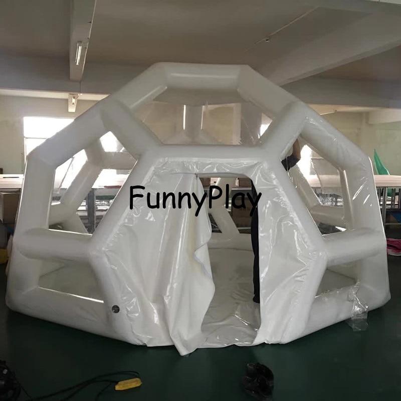 خيمة تخييم على شكل قبة ، خيمة شاطئ كوخ الإسكيمو ، PVC ، عرض جيد