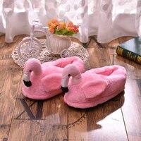unicorn slippers fluffy slides fur slippers women flamingo winter home lovers plush indoor anti skid women shoes size 10