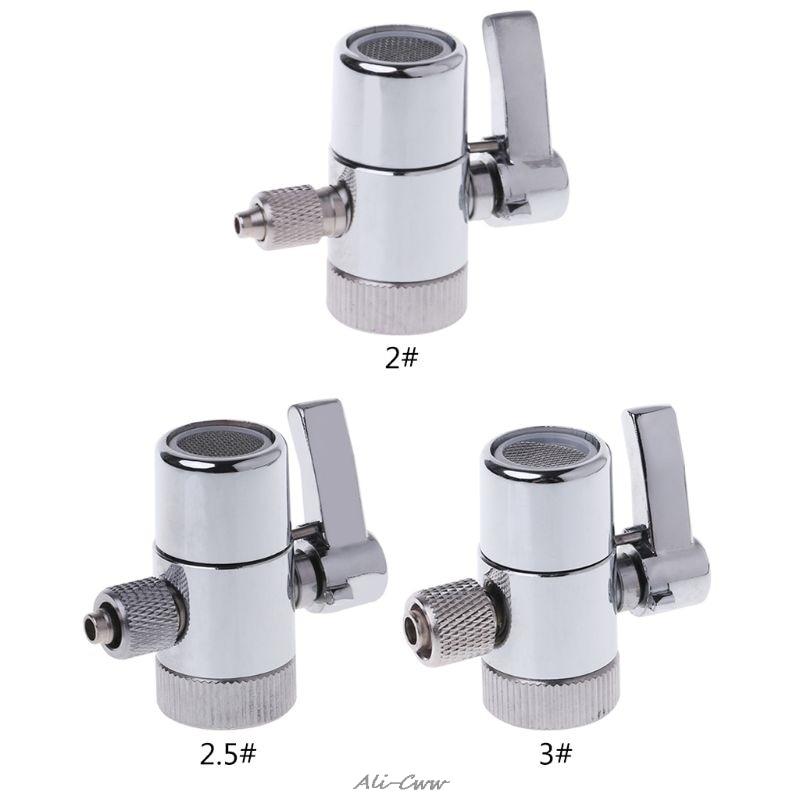 Faucet Adapter Diverter Valve Counter Top Water Filter Faucet Diverter Valve Ro System 1/4