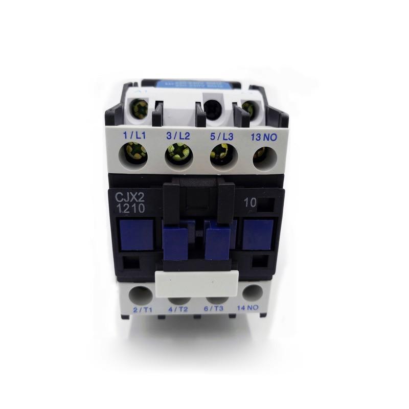 AC 220V contactor CJX2-1210 CJX2-0910 24VAC 1 phase 12A 9A 380VAC 3 phase