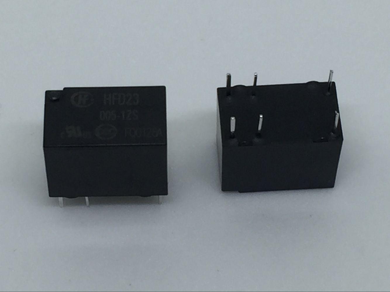 Free Shipping 100% new original relay 10pcs/lot  JRC-23F-005-1ZS JRC-23F 005-1ZS HFD23-005-1ZS Can replace G5V-1-DC5V HRB1