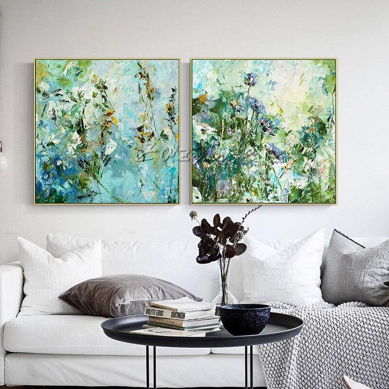 Cuadros con textura de arte, acrílico abstracto, pintura en lienzo, decoración de paredes, imágenes artísticas para decoración del hogar, sala de estar