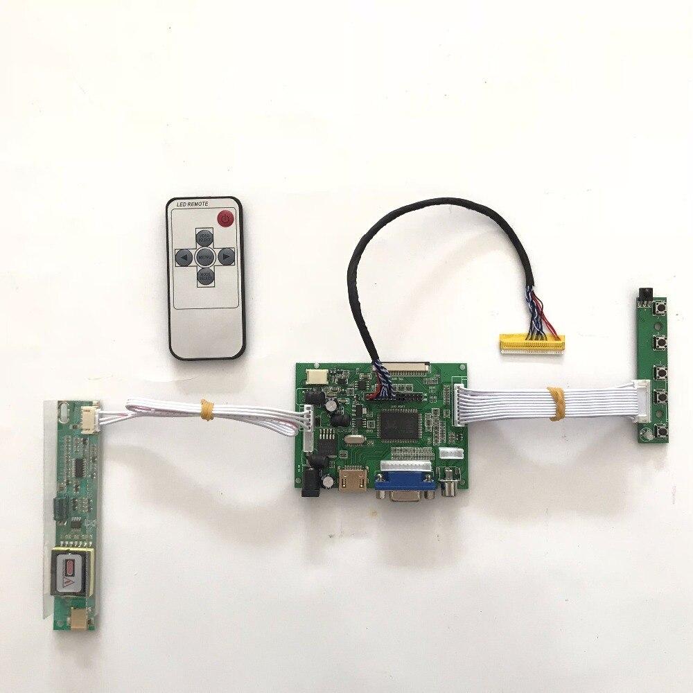 Carte contrôleur RTD2660 HDMI VGA AV LCD pour 1280x800 LTN141W1 LTN141W2-L02 LTN141W3 panneau LCD TFT 14.1 pouces CCFL
