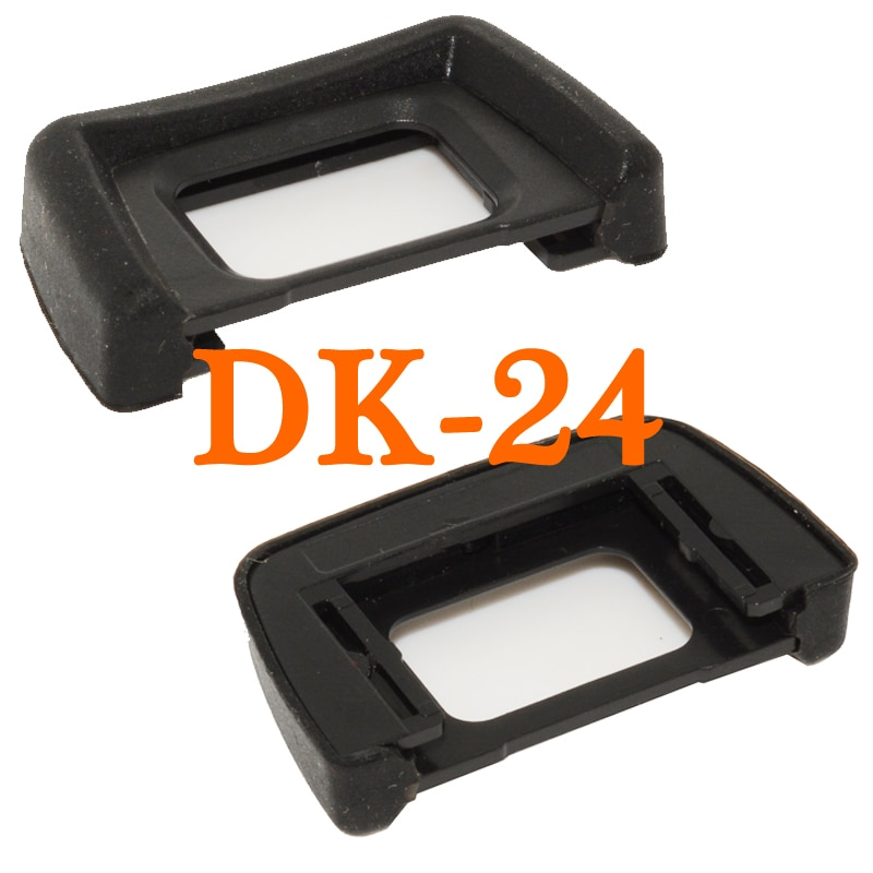 2pcs DK-24 Black Rubber Eye Cup Viewfinder Eyepiece Eyecup for NikonD5100 D5200 D5300 D5500 D3100 D3200 D3300 DSLR Digital SLR