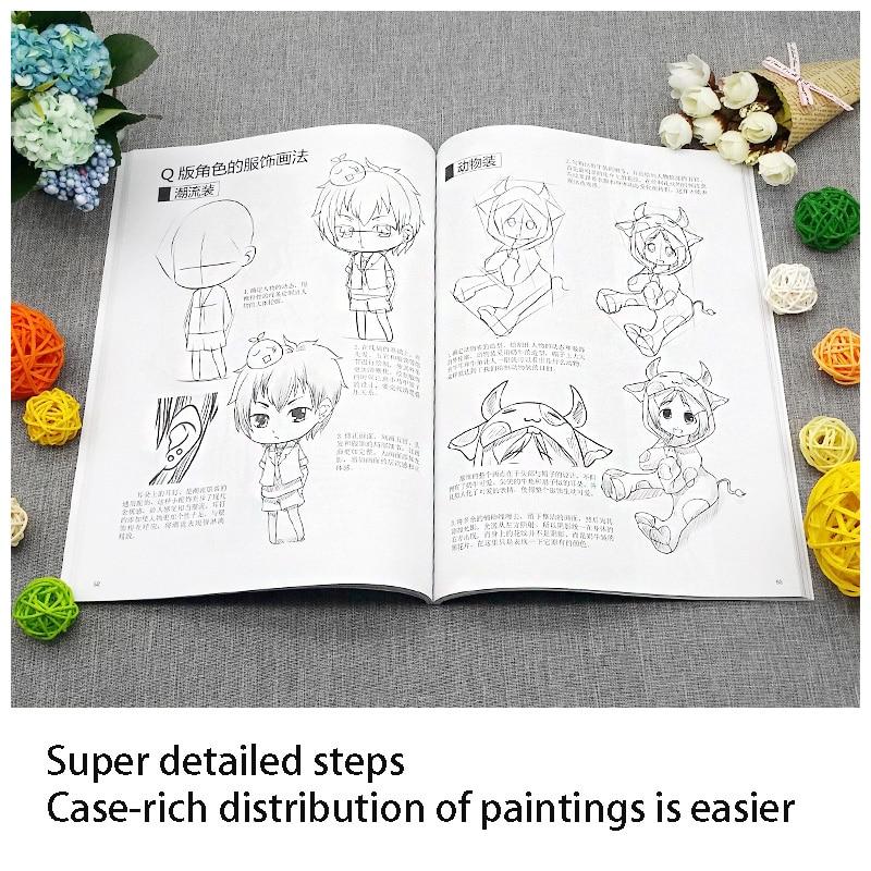 Comic Tutorial Zero Basic Comics 2 Dimensional Characters Comprehensive Sketch Techniques Painting Adult Self-study Comic Book enlarge
