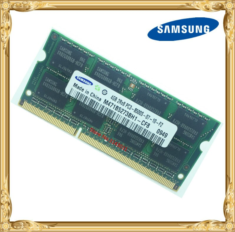 Samsung ноутбук оперативная память DDR3 4 Гб 1066 МГц PC3-8500S ноутбук RAM 8500 4G