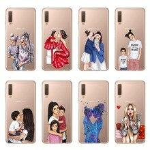 Cubierta de TPU suave para Samsung Galaxy A10 A20 A30 A40 A50 A60 A70 A80 A6 A8 Plus A7 A9 2018 funda Capa