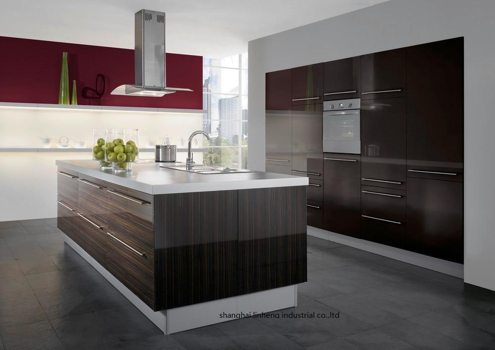 Меламиновые/mfc кухонные шкафы (LH-ME062)
