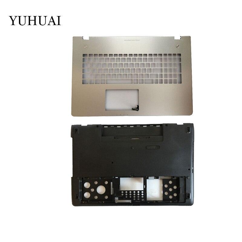 Nueva carcasa para portátil ASUS N76 N76V N76S N76VM cubierta superior/cubierta inferior