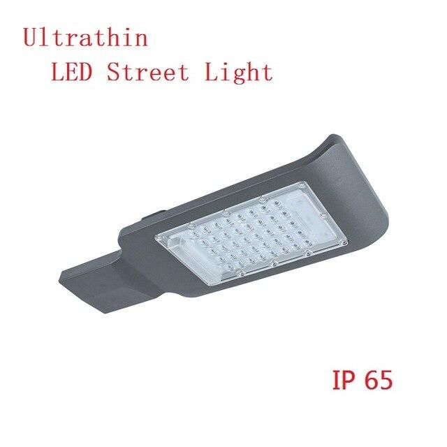 20W 30W 50W 100W LED أضواء الشوارع الطريق مصباح للماء IP65 SMD led رقاقة التجويف 130-140lm/w AC85-265V led ضوء الشارع
