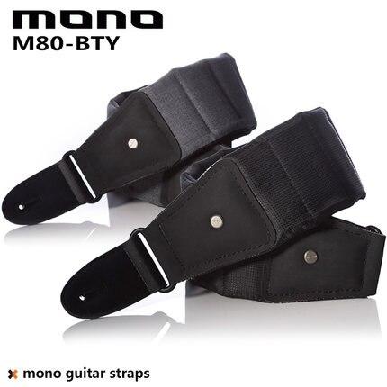 MONO M80 Betty correa de guitarra color negro/ceniza