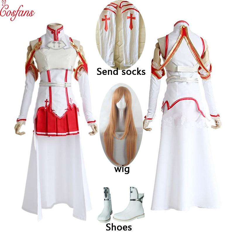 فستان تأثيري للنساء ، زي الهالوين ، تأثيري ، درع ، مجموعة كاملة من شعر مستعار