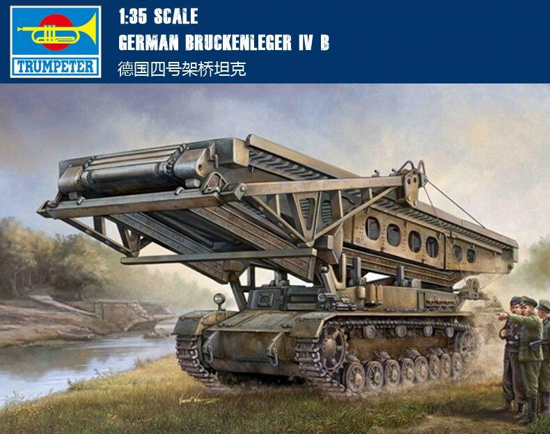 Trompeta 00390 135 n. ° cuatro Alemania puente montaje tanque modelo