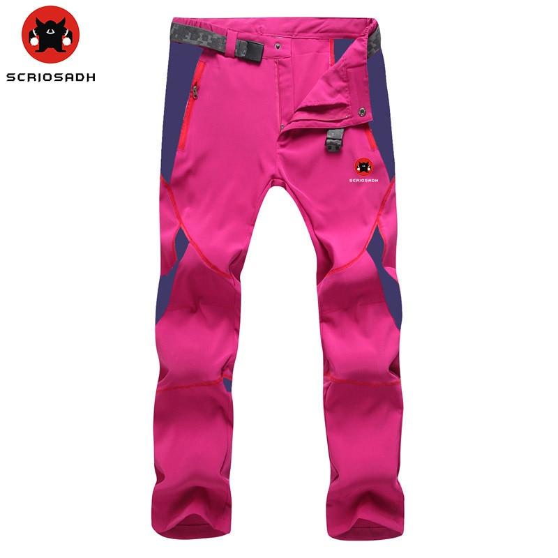 SCRIOSADH Sports de plein air séchage rapide pantalon hommes femmes Trekking pantalon imperméable respirant Anti-UV randonnée pêche pantalon