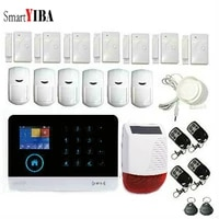 SmartYIBA     systeme dalarme de securite domestique  GSM  Signal  anti-cambriolage  GPRS  applications IOS Android  SMS Push a distance