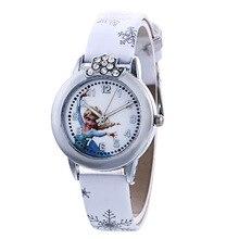Cartoon Cute Brand Leather Quartz Watch Children Kids Girls Boys Casual Fashion Bracelet Wrist Watch