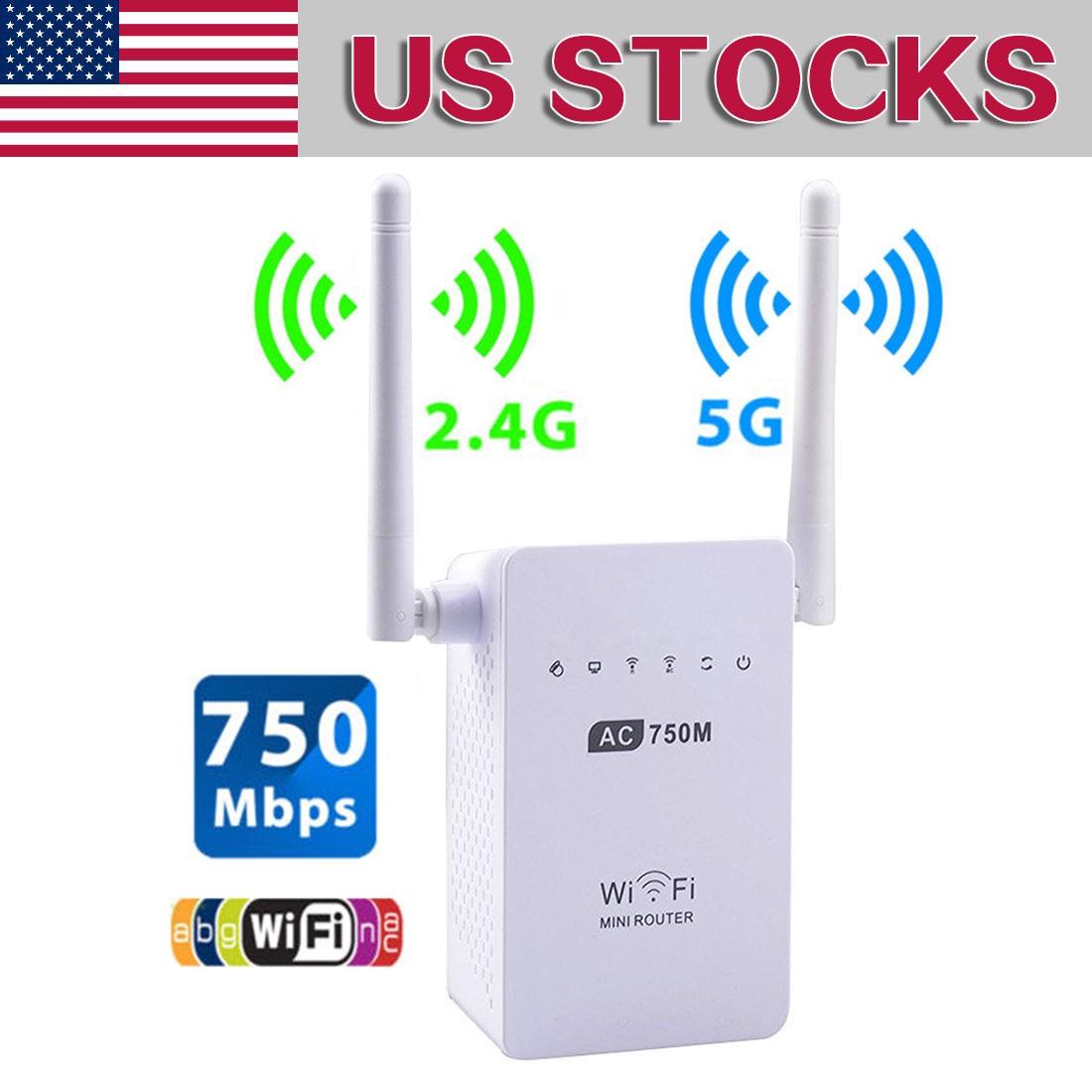 NOYOKERE 750M Wireless-AC Router AC750 de banda Dual 2,4 GHz/5 GHz Wifi...