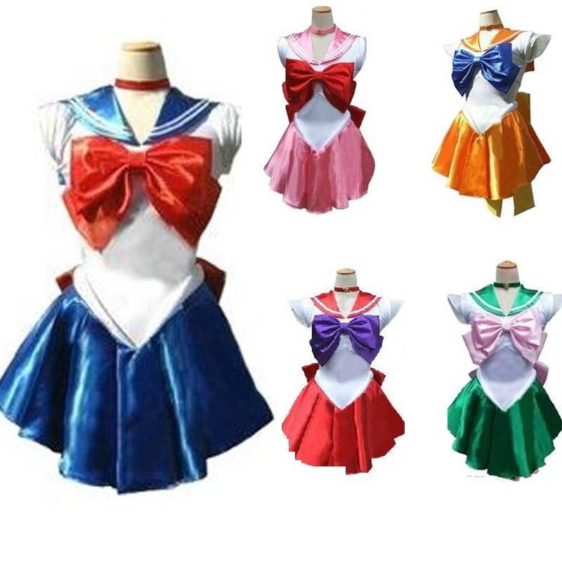 Halloween Anime disfraz Show Sailor Moon mes cosplay de conejo vestido para niñas