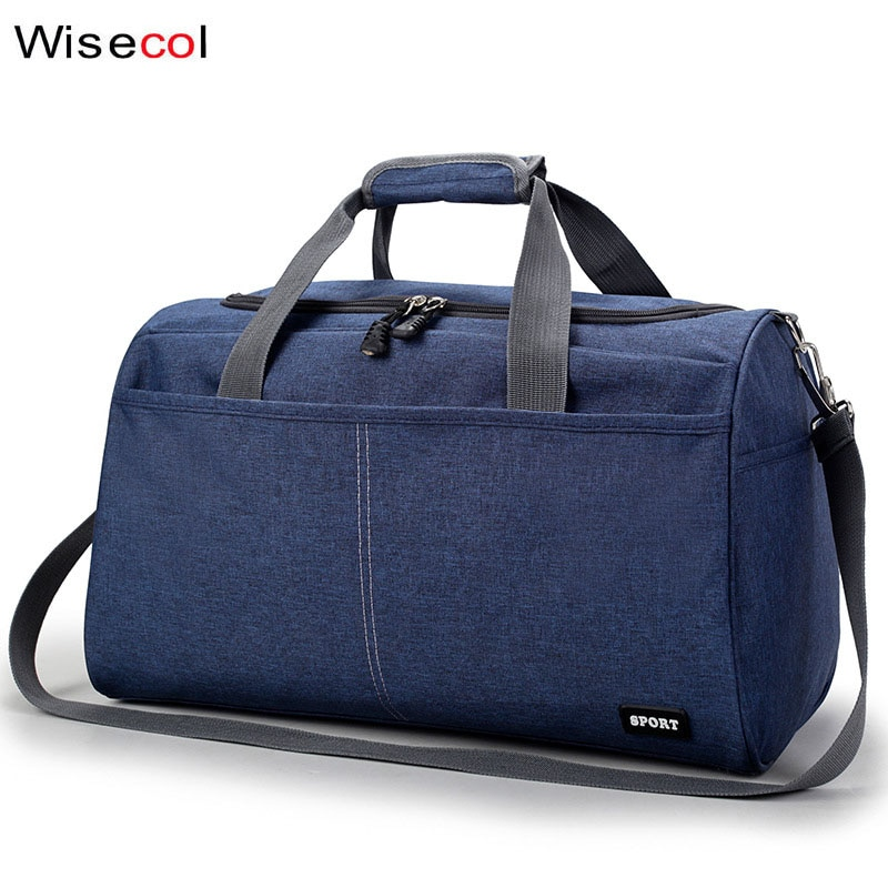 Bolsa de viaje portátil de moda para hombres color sólido tamaño grande pequeña bolsa de almacenamiento de ropa de viaje Bolsa de viaje de ocio de señoras