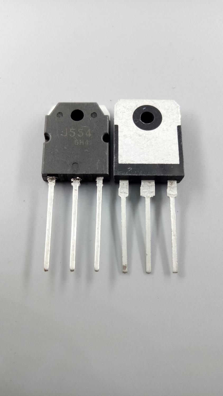 2 unids/lote emparejamiento 1pcs K2955 2SK2955 1pcs 2SJ554 J554