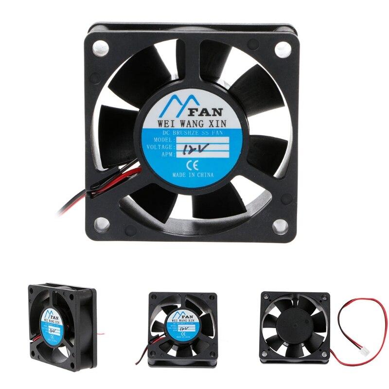 60 мм * 60 мм * 20 мм DC 12 В 2-контактный кулер безщеточный осевой ПК чехол для процессора вентилятор охлаждения 6020