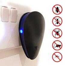 New Electronic Ultrasonic Mosquito Killer Anti Mosquito Insect Pest Mosquito Repellent Repeller EU US UK Plug