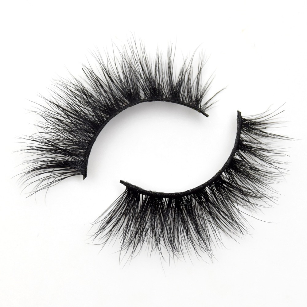 Visofree Lashes 3D Mink Eyelashes Volume Mink Eyelash Extensions Thick Mink Lashes Cruelty free Fluffy Natural False Lashes R13