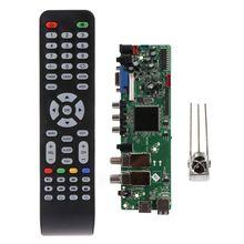 DVB S2 DVB T2 цифровой сигнал ATV Maple Driver LCD пульт дистанционного управления, Универсальный Dual USB Media QT526C V1.1