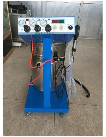 Elektrostatik toz boyama makinesi WX-958 elektrostatik sprey toz kaplama makinesi püskürtme tabancası boya